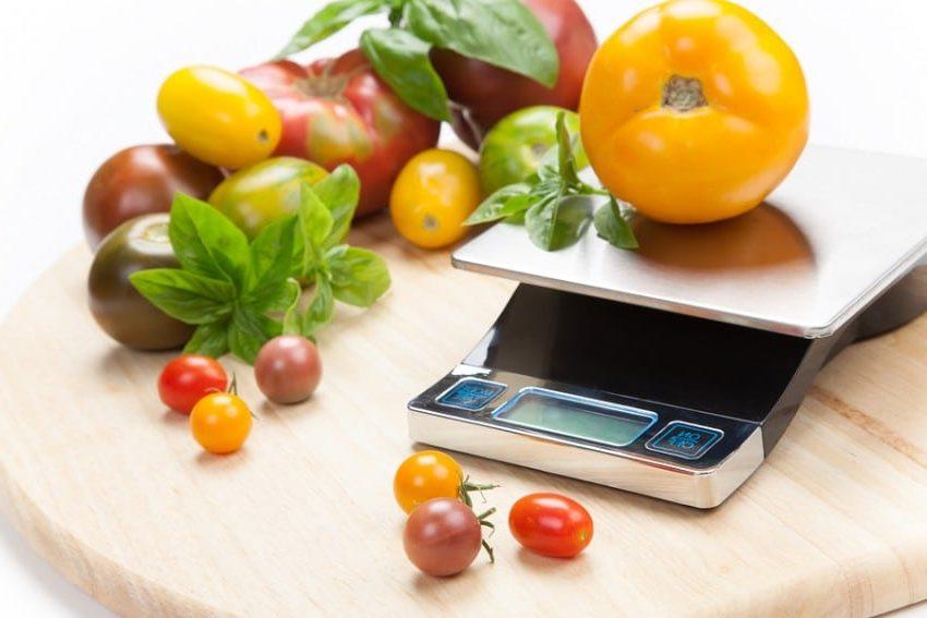 Мерная таблица продуктов питания