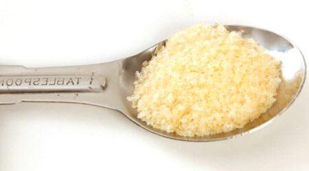 Ложка с желатином