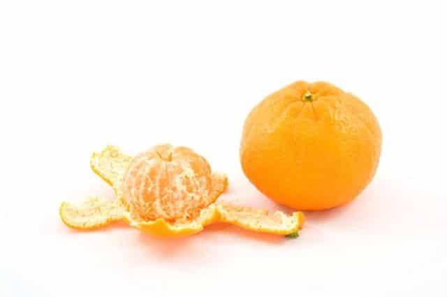 фото мандарина и апельсина