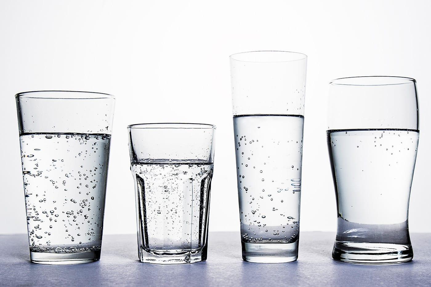 Сколько в стаканах воды