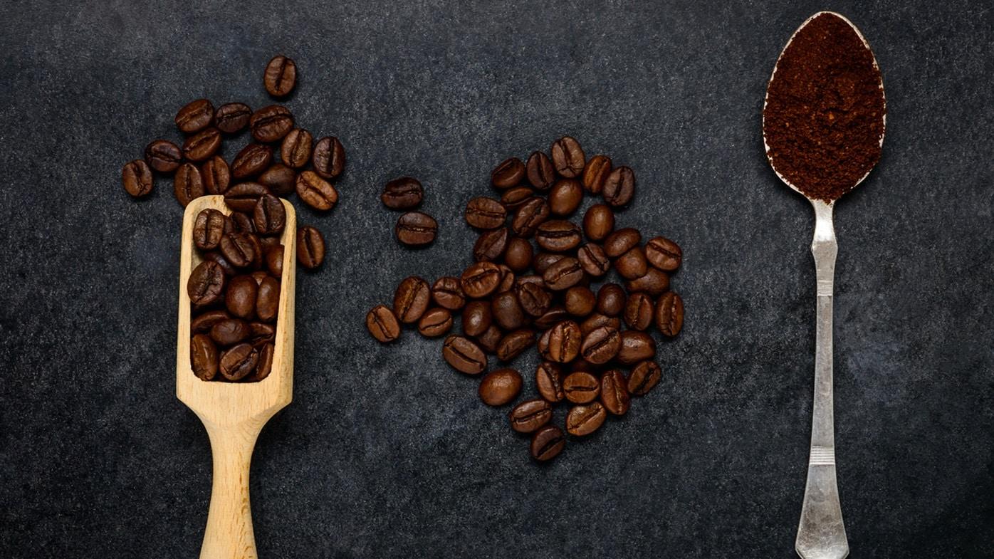 Ложки с кофе