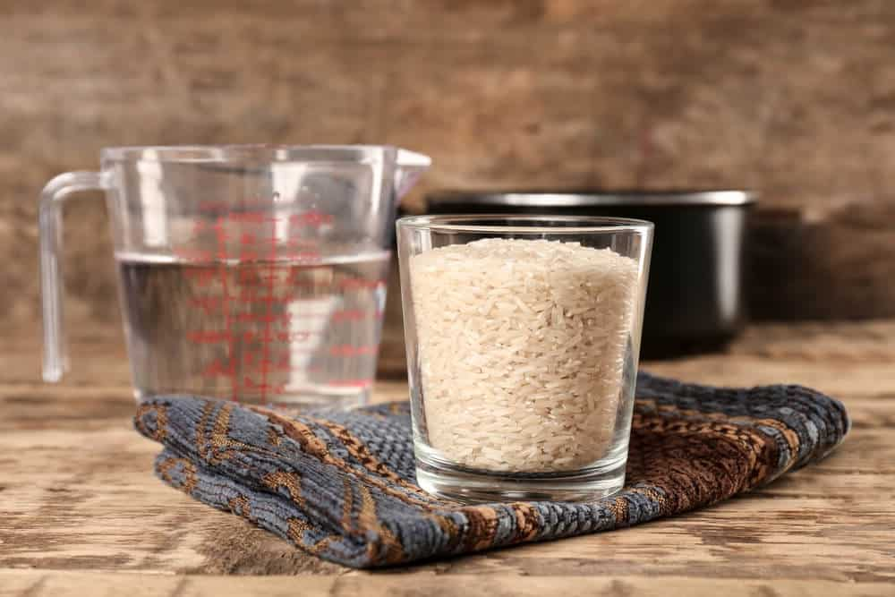 Сколько грамм риса в стакане