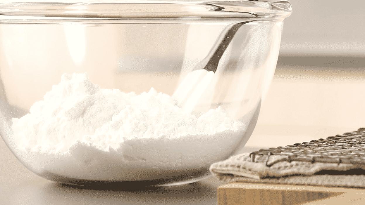 Измерим стакан сахарной пудры