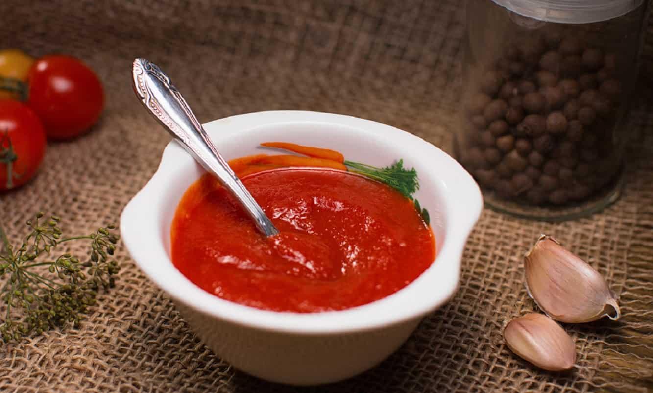 Сколько грамм кетчупа в ложке