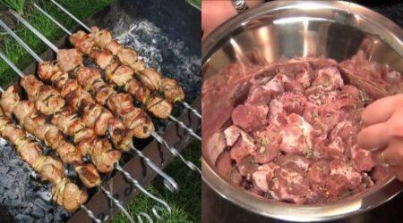 Сколько соли на кг шашлыка из свинины и курицы