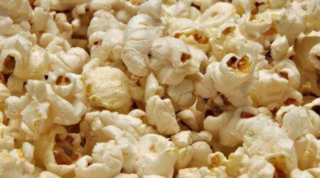 Сколько грамм в стакане попкорна