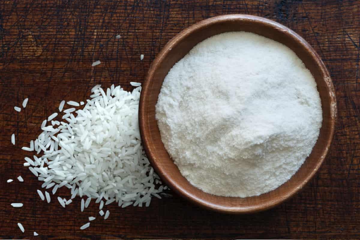 Ложка рисовой муки сколько грамм