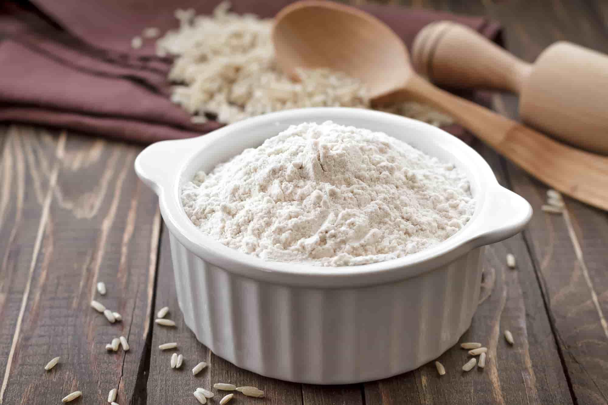 Сколько грамм рисовой муки в стакане