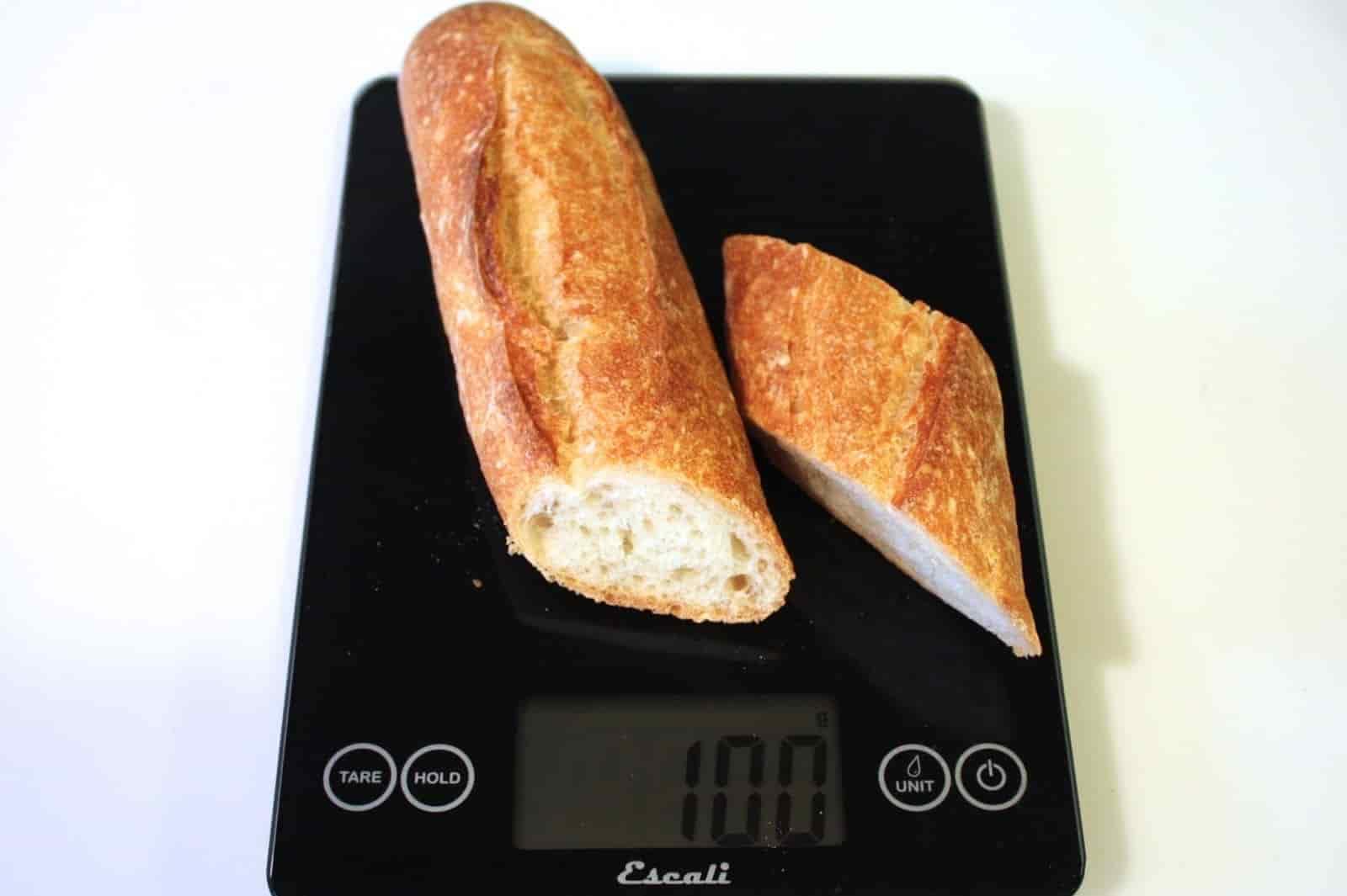 100 грамм багета