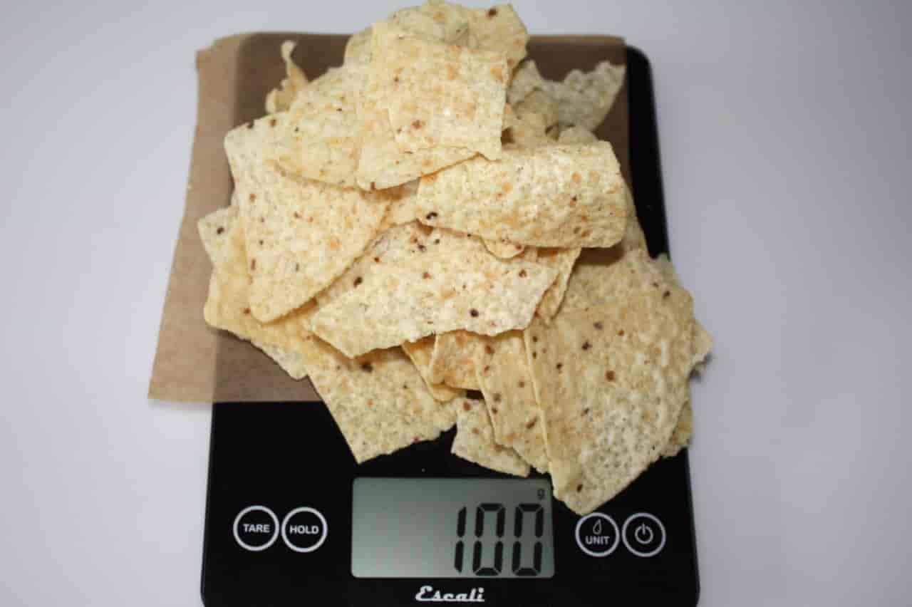 100 грамм чипсов