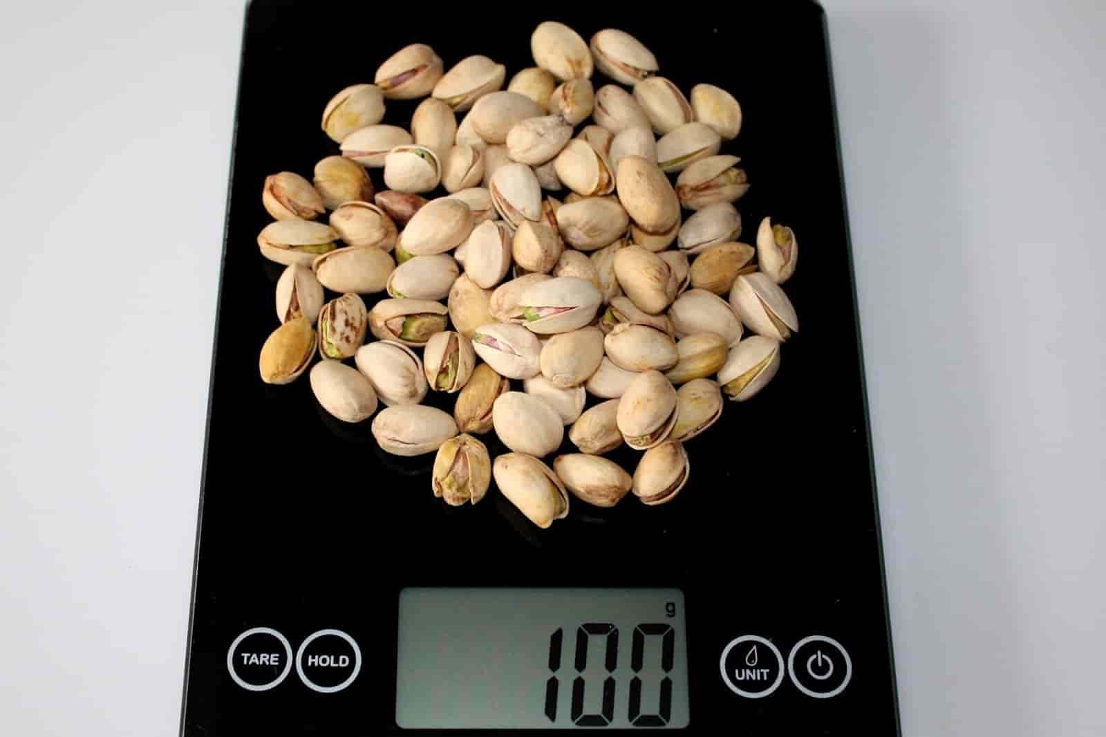100 грамм фисташек