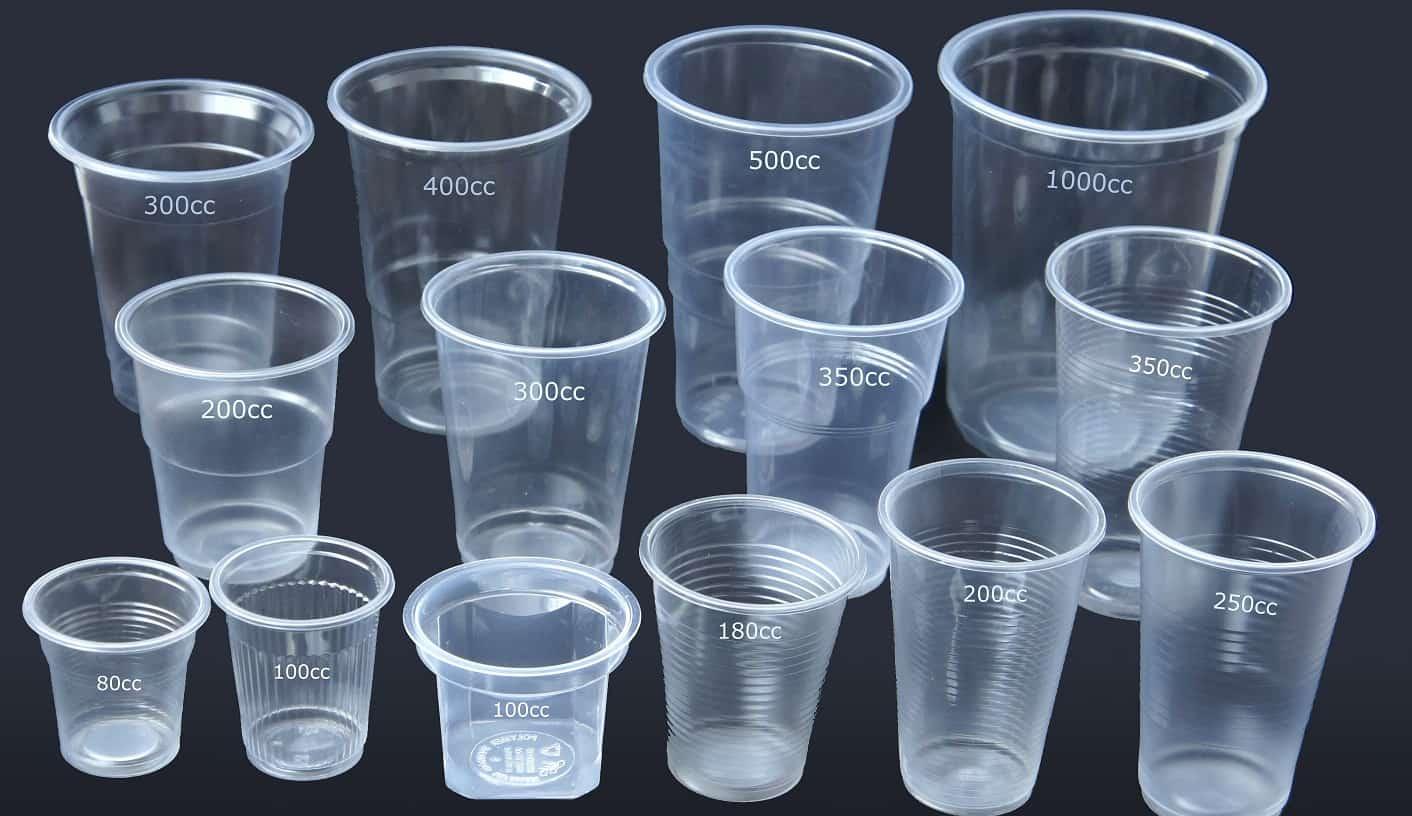 Сколько в одноразовом стаканчике мл. и грамм